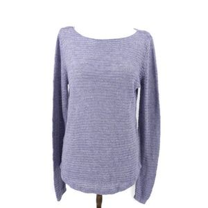 Tahari linen knitted sweater